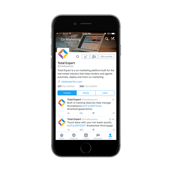 Twitter Dashboard gives you the ability to build connections, while also tracking analytics.